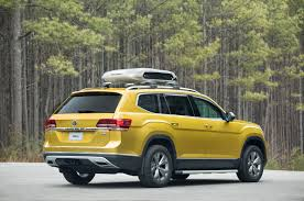 vw snowman photo collection volkswagen atlas rear