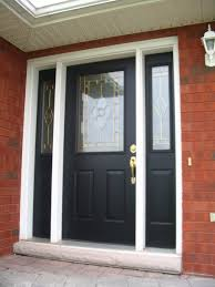 Unique Front Doors Amazing Single Swing Black Front Doors Escorted By Double Small
