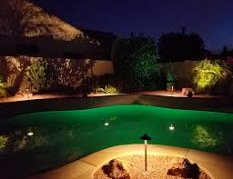even with the summer heat your property can look cool his lighting