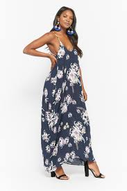 model dress floral print maxi cami dress forever 21 2000287406