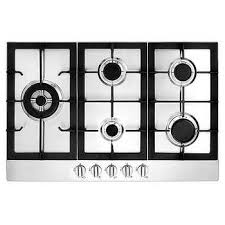 Gas Stainless Steel Cooktop Ancona 5 Burner 30