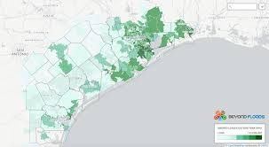Fema Interactive Flood Map 71 High Risk Homes Uninsured For Flood In Areas Impacted By Harvey