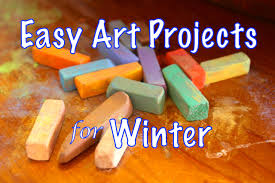 easy art projects for winter hodgepodge