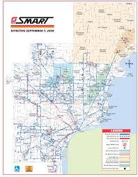Bus Map Detroit Bus Map Smart U2022 Mapsof Net