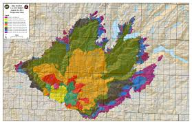 Fires Near Denver Map by Dramatic New Images From Space Of California U0027s Rim Fire Imageo