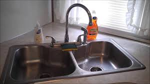 that old trailer life kitchen faucet upgrade youtube