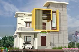 1700 sq ft modern box type residence kerala home design g house