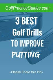 3 golf putting drills for beginners