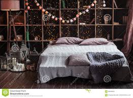 Schlafzimmer Betten Komforth E Gemütlichkeits Komfort Innenraum Und Feiertagskonzept