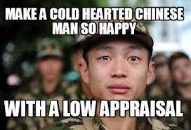 Chinese Man Meme - meme creator crying chinese army man meme generator at memecreator
