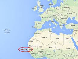 cape verde map world location and islands of cape verde cabo verde
