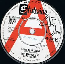 don gardner and dee dee ford i need your loving stateside uk demo