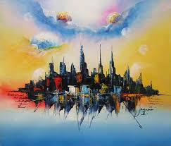 Abstract Landscape Painting abstract landscape paintings 4jackie pinterest landscaping