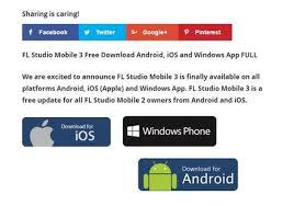 free fl studio apk fl studio mobile 3 apk free fl