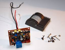self contained motion detector light motion sensor switched output hack automat3d