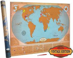 Scratch Off Map Custom Scratch Map Wholesale Map Suppliers Alibaba