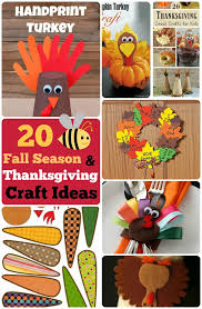 20 diy thanksgiving craft ideas fall season crafts for kids