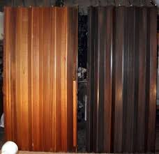 Wood Accordion Doors Interior Ideas Design Pics U0026 Examples