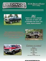 prerunner bronco dash ford bronco 1980 up catalog pdf belt mechanical transmission