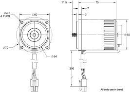 acp m ac induction gear motors