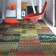 how do i downplay rose colored carpeting