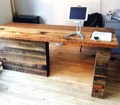 Unique Reception Desk Desks Wood Reception Desks Reclaimed Wood Reception Desks Solid