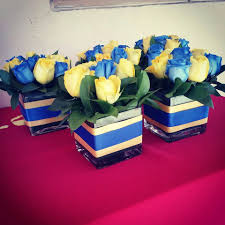 college graduation centerpieces syracuse graduation party flower arrangements let s go