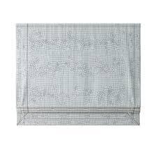 White Roman Shade Appliqued Frame Cotton Canvas Roman Shade 3d Model Max Obj Fbx Mtl Mat