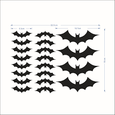new bat living room bedroom wall stickers foreign trade can be