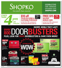 shopko black friday 2017 ads deals and sales