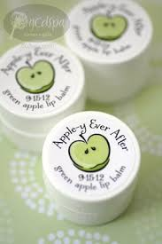 theme wedding favors apple y after lip balm wedding favors snow white wedding
