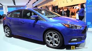 New Focus Interior 2015 Ford Focus St Exterior And Interior Walkaround 2015