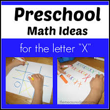 Ideas For Letters Preschool Math Ideas For The Letter X The Measured