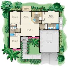 three bedroom floor plans 1305 square 3 bedrooms 2 batrooms 2 parking space on 1 levels