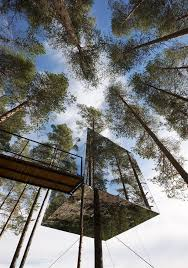 treehouse hotel pennsylvania tree hotel made of mirrors by tham u0026 videgård arkitekter rare