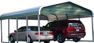 Carport Attached To Garage Simpco Portable Buildings