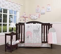Geenny Crib Bedding Geenny Baby Deer Family 13 Nursery Crib