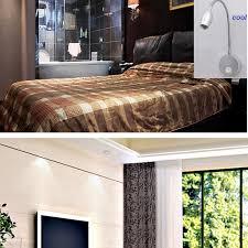 cool white lights 2pcs 12v dc led reading light cool white lighting rv flexible wall