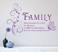 home decor wall art stickers aliexpress com buy family like branches quotes butterfly vinyl