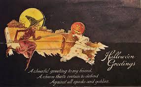 vintage halloween postcard turn of the century 7