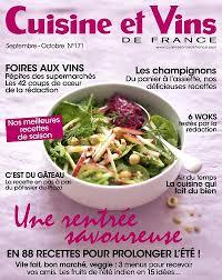 recettes cuisine et vins de achat magazine cuisine et vins de n 171 en numérique