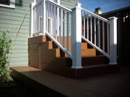 composite deck with radiancerail deck masters llc portland or