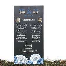 customized wedding programs customized wedding program sign letter adore