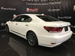 lexus sports car white pre owned 2017 lexus ls 460 demo unit f sport package 4 door car
