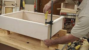 how to attach a cabinet face frame to a cabinet wwgoa