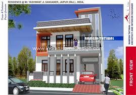Modern North Indian Style Villa design Indian Home design Free