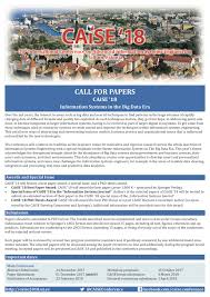 call for papers caise u00272018