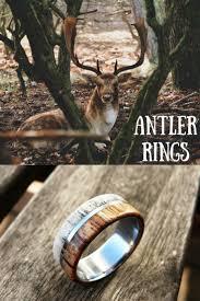 Deer Antler Wedding Rings by Best 25 Deer Antler Ring Ideas On Pinterest Deer Antler Wedding