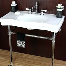 bathroom sink and vanity native trails whitewash in single