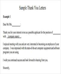 sample job application letter 8 examples in word pdf
